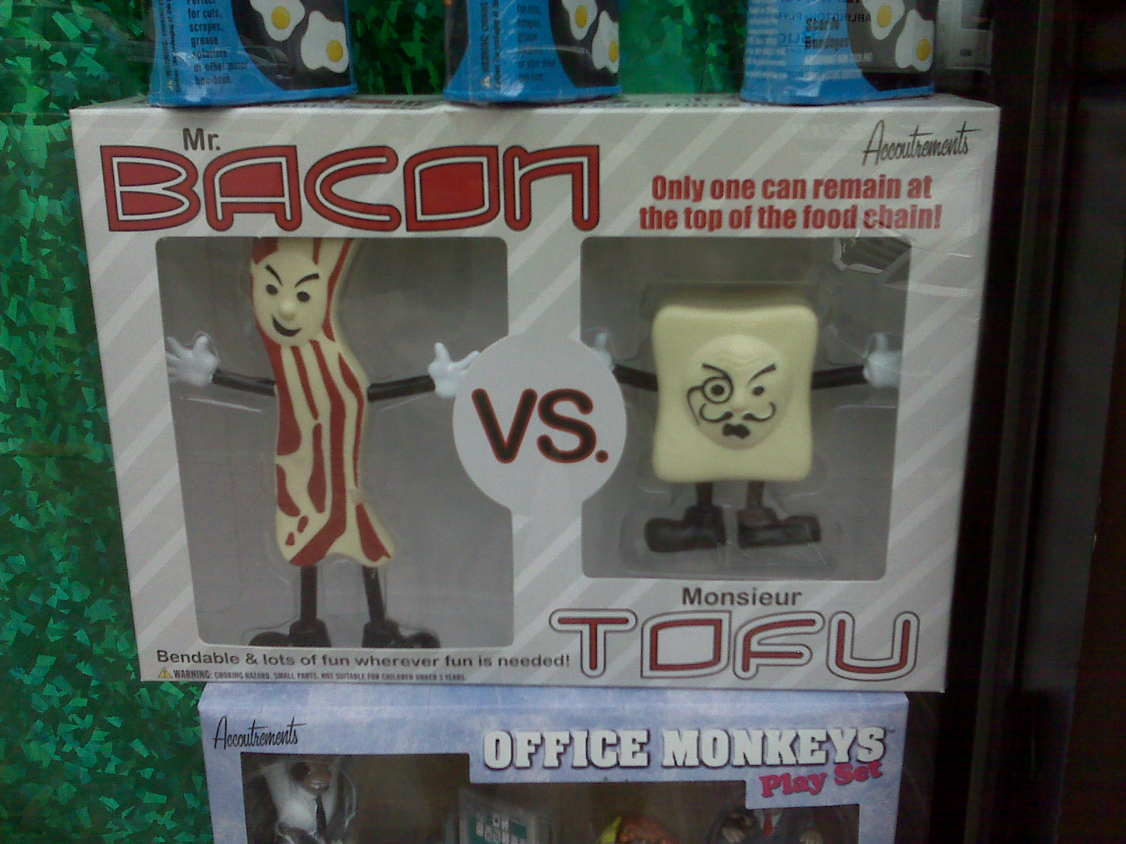 Bacon vs. Tofu