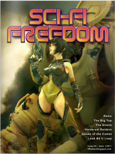 SciFi Freedom #4 cover