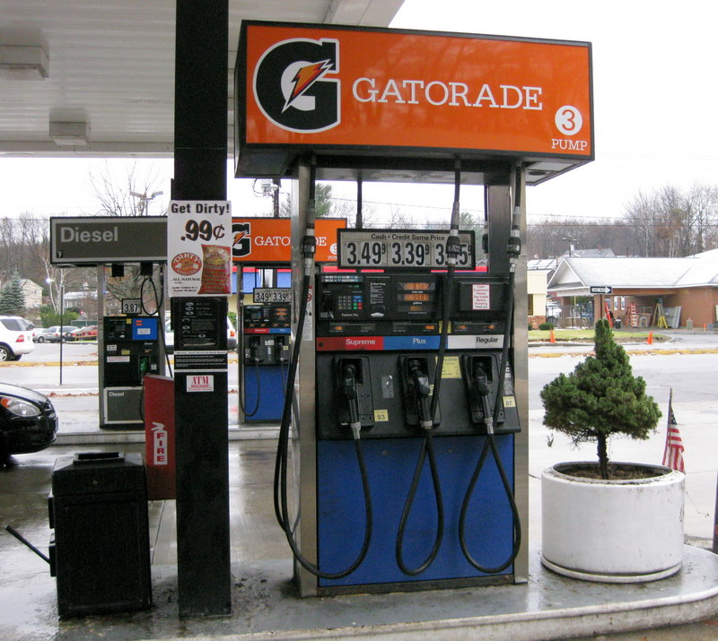 Gatorade pump