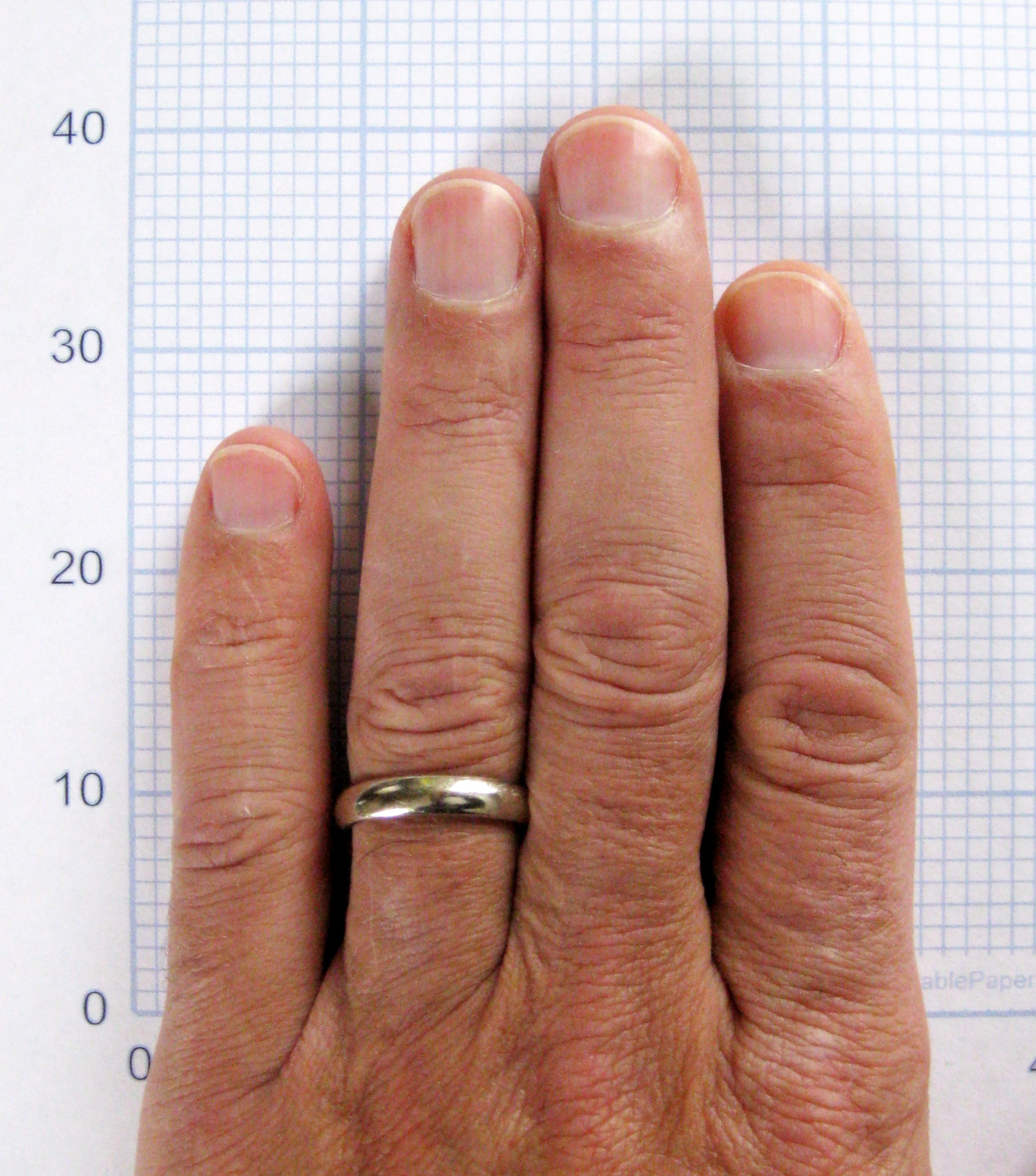Ring Finger Index Finger Women Studies