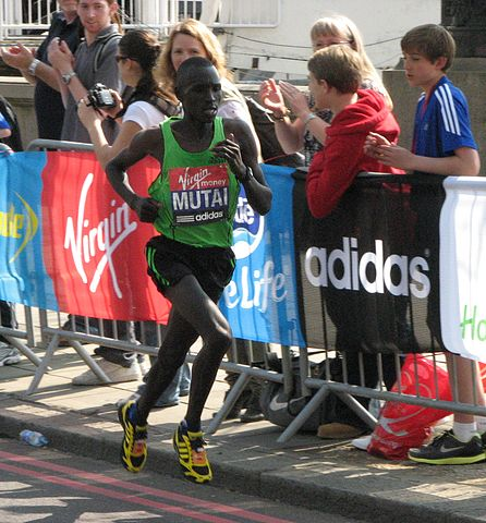 Mutai at 2011 Boston
