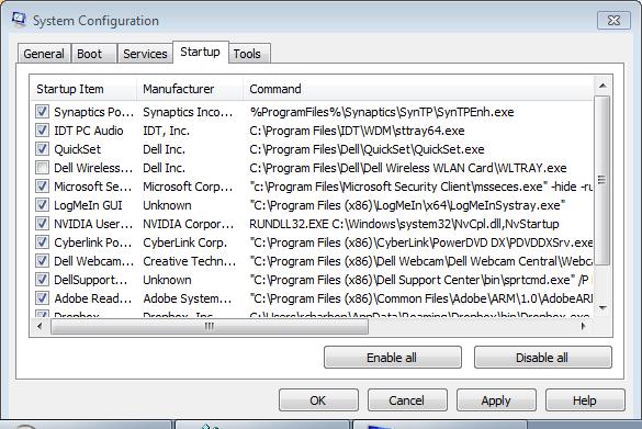 Today\u0027s Tech Tip \u2013 Kill Dell\u0027s Wirelesss WLAN Tray Service \u2013 Y42K