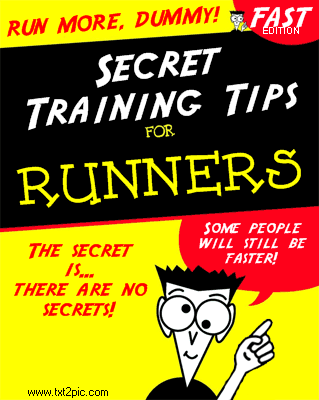 dummies cover for runners