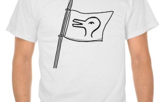 Rabbit God/Duck God T-shirt