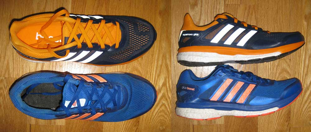 Adidas Supernova Glide Boost 8 vs. 7