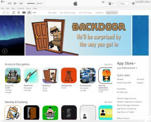 post-settlement App Store