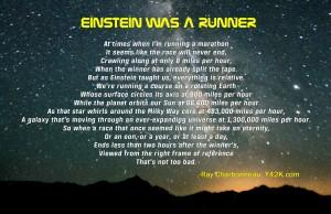 Einstein was a runner