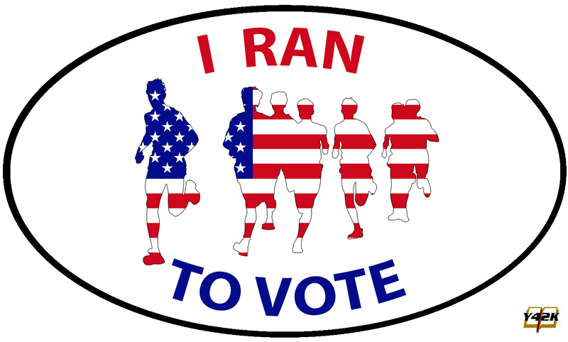 I ran to vote