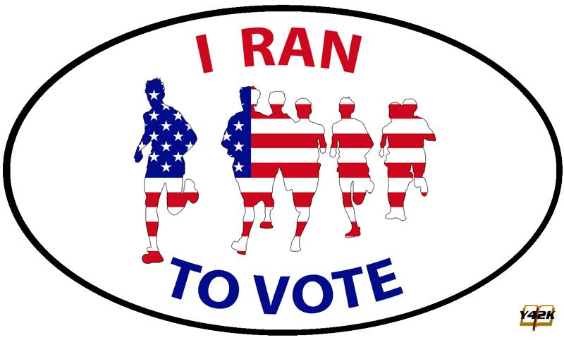 I ran to vote