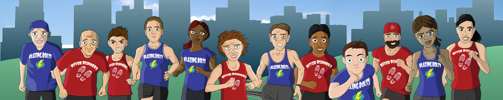 Pass the Baton! is a great gift for runners