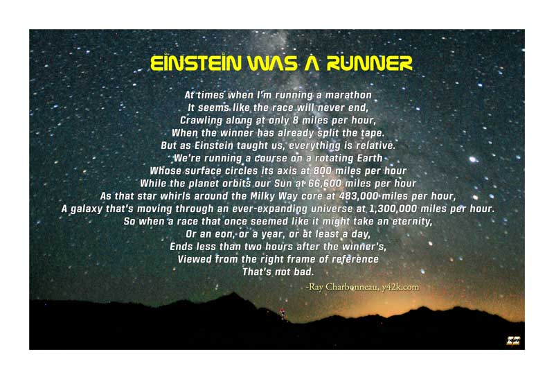 Einstein Was a Runner poster
