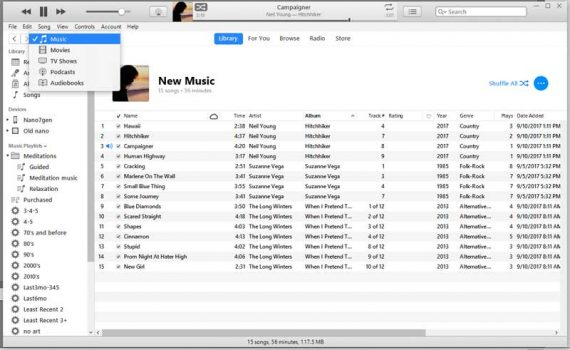 itunes 12.7 removes books, apps, ringtones