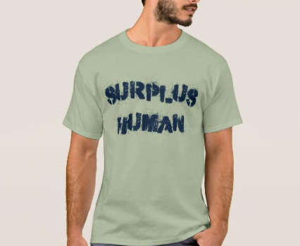 Surplus Human t-shirt